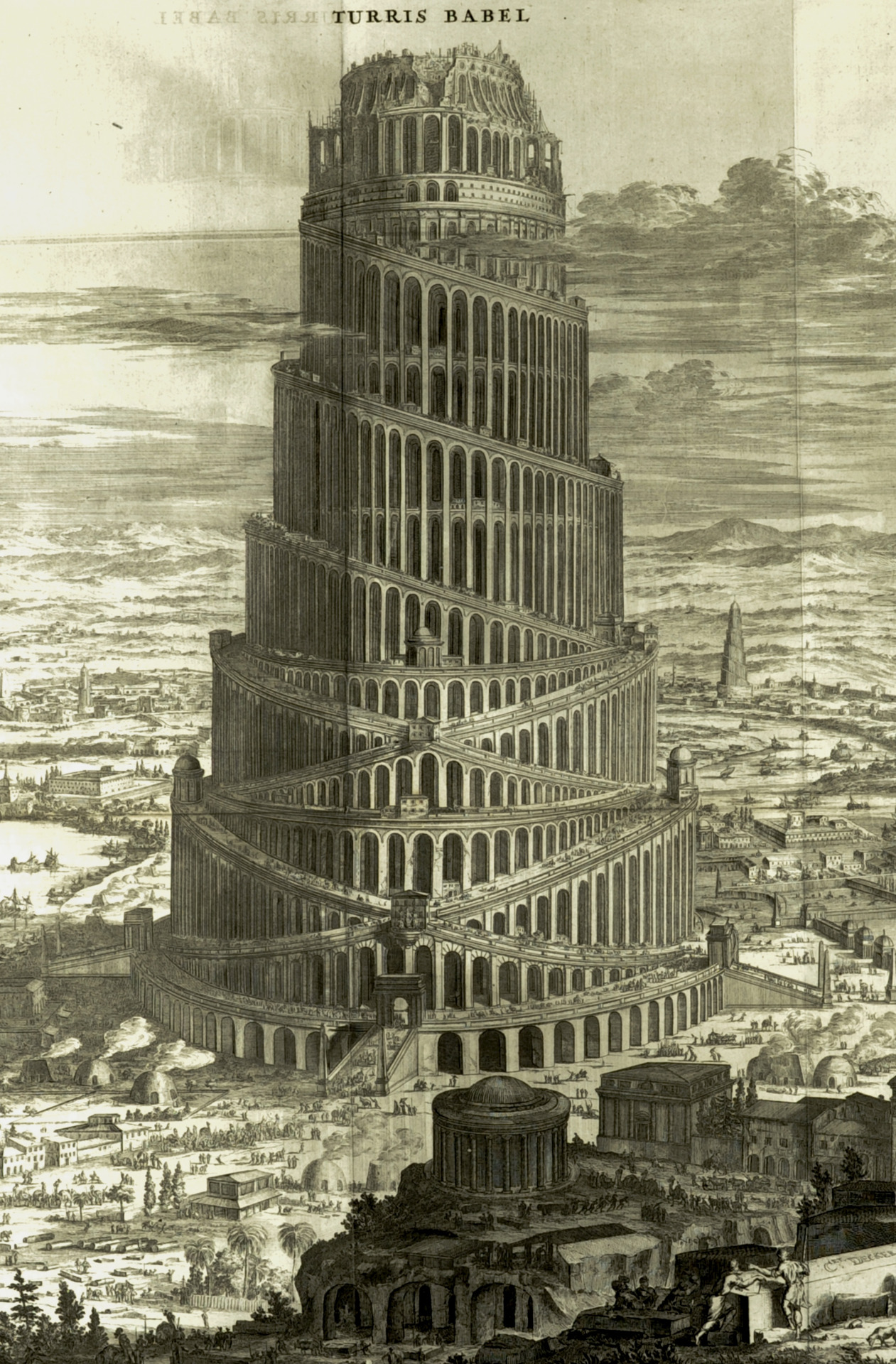athanasius-kircher-saint-andrews-copy-of-a-large-fold-out-plate-print-engraving-detail-turris-babel-tower-of-babel-amsterdam-c-1679
